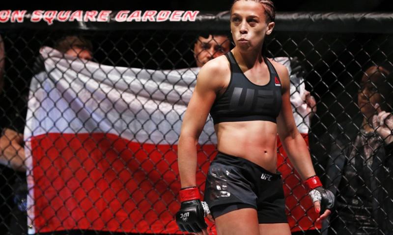 Джоанна Энджейчик сбросила 15 фунтов за 14 часов перед UFC 217