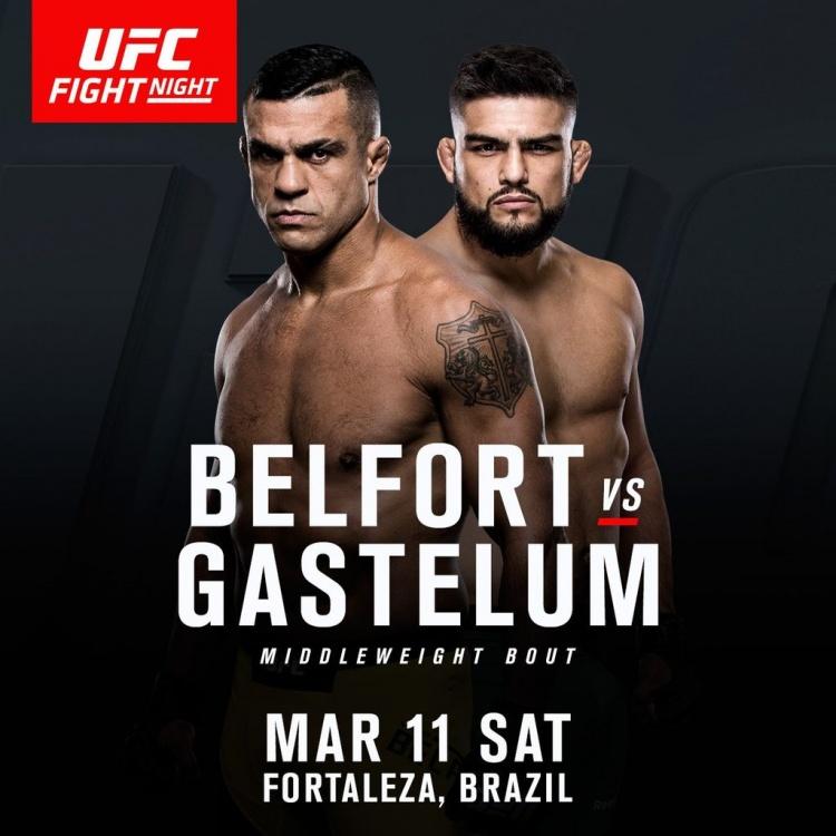 Бой Келвин Гастелум – Витор Белфорт на UFC Fight Night 107