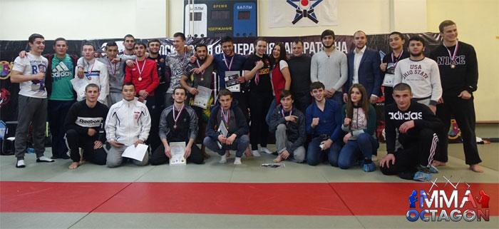 Результаты открытого Кубка Москвы по Панкратиону