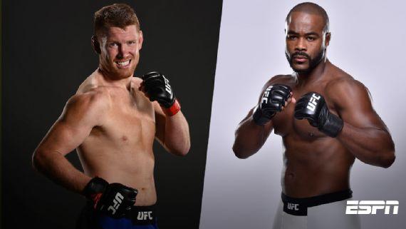 Рашад Эванс против Сэма Алви на UFC Fight Night 114 в Мексике