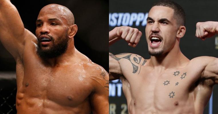 Бой «Ромеро-Уиттакер» станет ко-мейн ивентом UFC 213