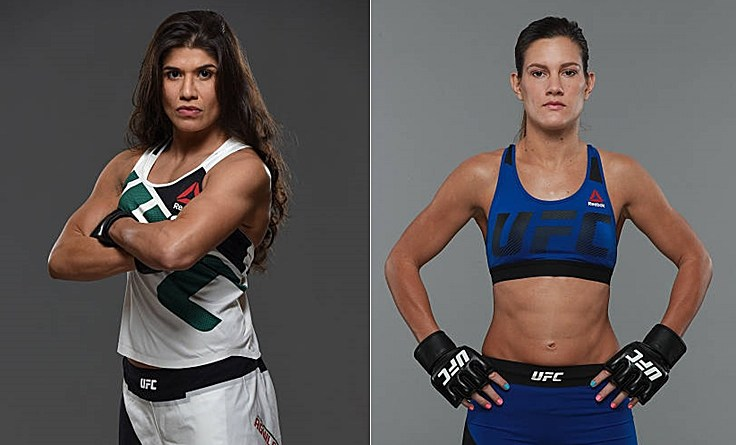 Джессика Агилар — Кортни Кейси на UFC 211