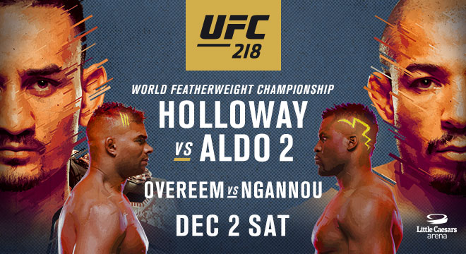 UFC 218 HOLLOWAY VS. EDGAR
