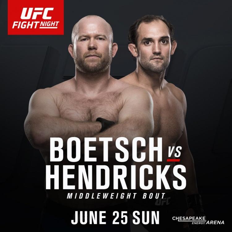 Тим Ботч — Джони Хендрикс на UFC Fight Night 112
