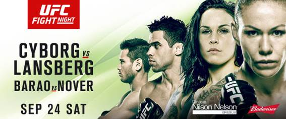 Результаты взвешивания UFC Fight Night 95