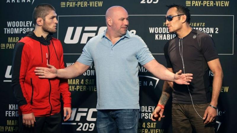 Фергюсон о Нурмагомедове, временном титуле и возвращении МакГрегора в UFC