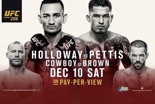 Медицинские отстранения по итогам UFC 206 и UFC Fight Night 102