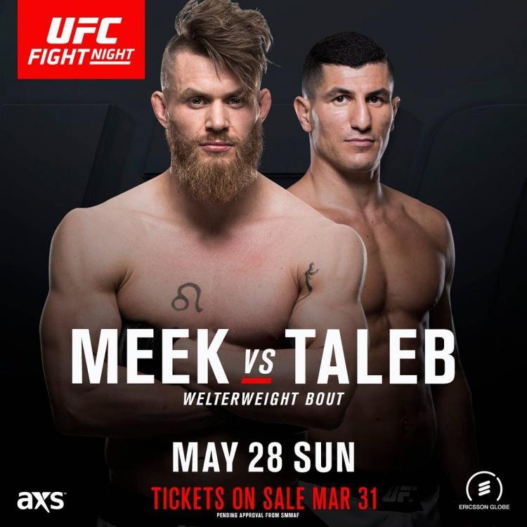 Эмил Мик — Нордин Талеб на UFC Fight Night 109