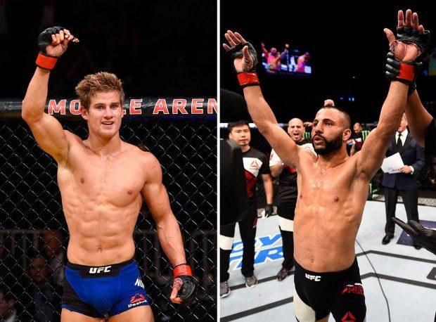 Сэйдж Норткатт против Джона Макдесси на UFC 214