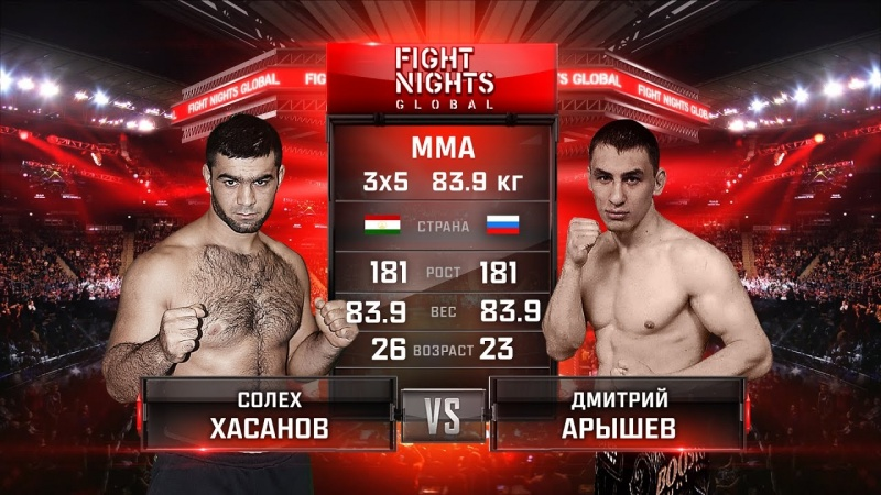 Fight Nights Global 60: Хасанов - Арышев