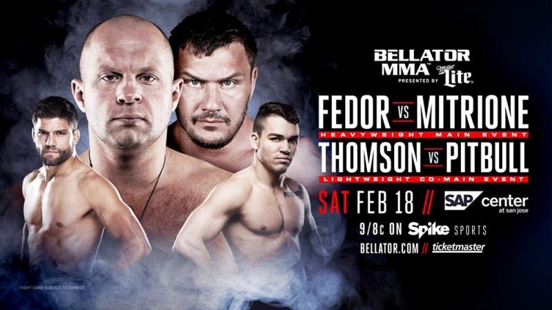 Анонс поединка Томпсон — Фрейре на Bellator 172