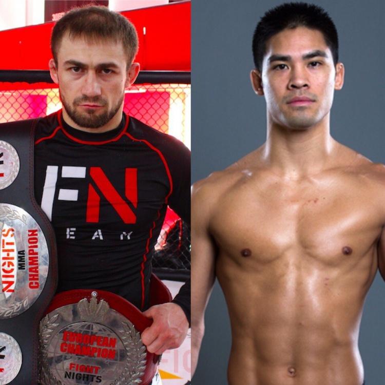 Али Багаутинов — Тайсон Нэм на Fight Nights Global 64