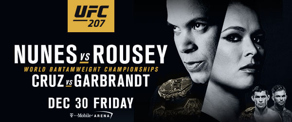 UFC 207 прошло отметку в миллион проданных PPV