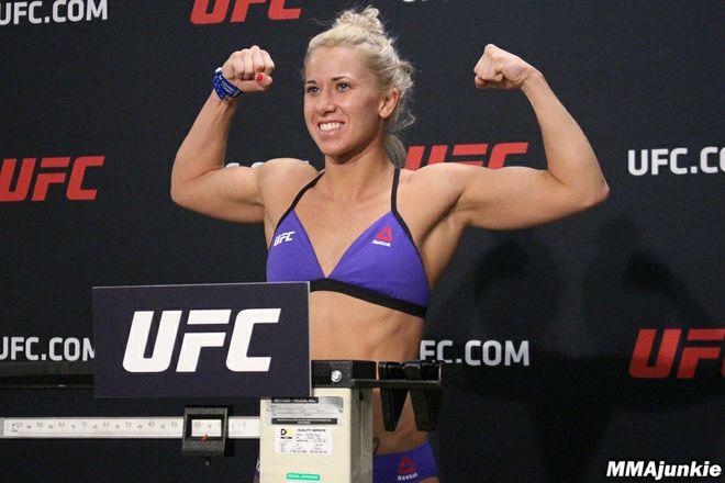 Поединок Аманда Купер – Синтия Кэльвилло попадет в основной кард UFC 209