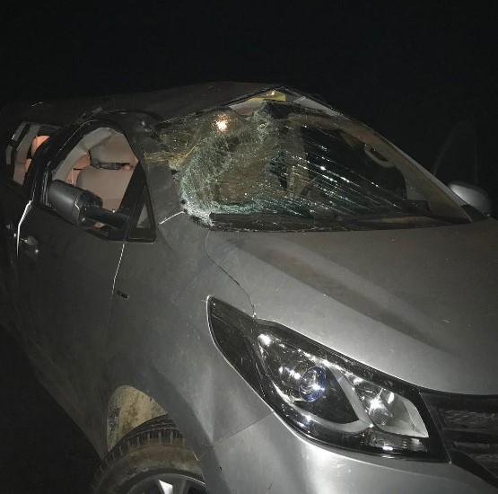 Гектор Ломбард попал в аварию