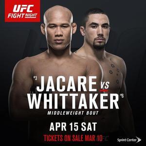Роналдо «Жакаре» Соуза – Роберт Уиттакер на UFC on FOX 24