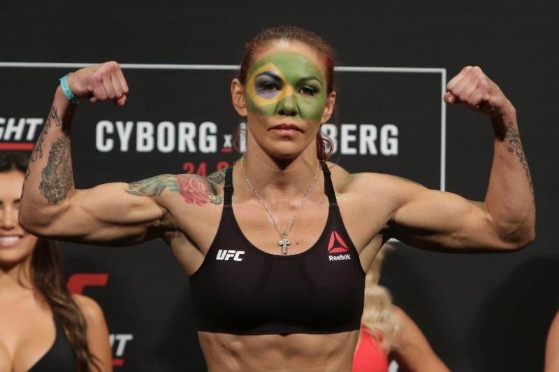 Крис Сайборг: «Хотела бы подраться на UFC 214 против Меган Андерсон»
