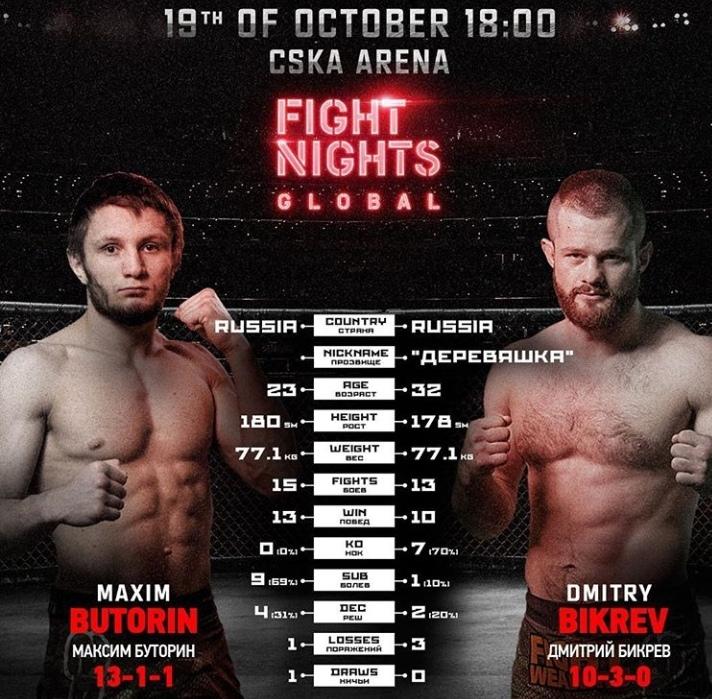 FIGHT NIGHTS GLOBAL 92
