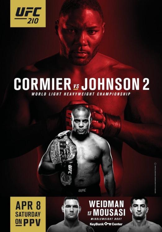 Дэниел Кормье не доволен постером UFC 210