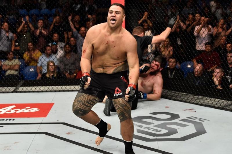 Будущая звезда тяжелого веса UFC: Тай Туиваса