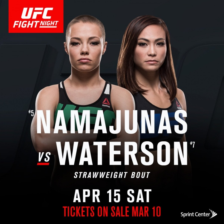 Намаюнас — Вотерсон на UFC Fight Night 108