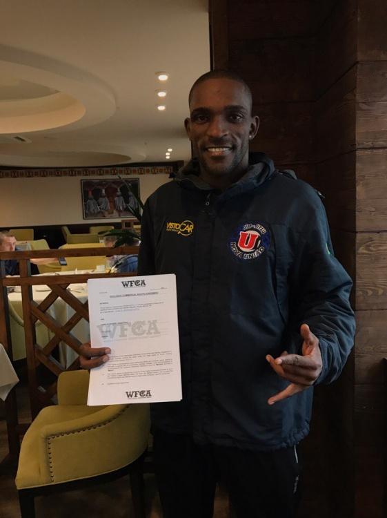 Вальмир Лазаро подписан в WFCA