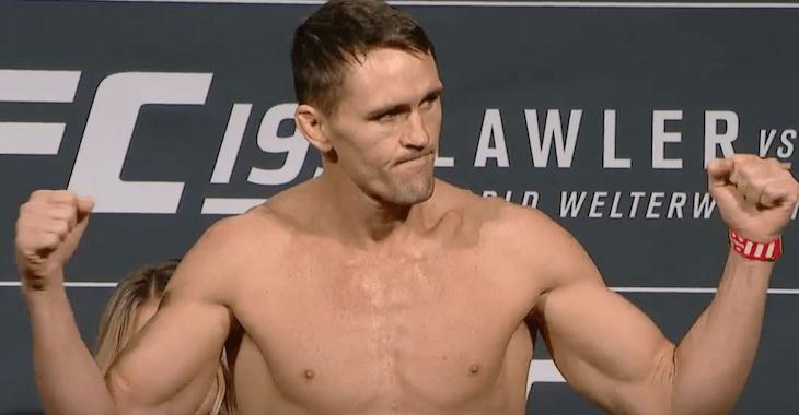 Кайл Ноук – Омари Ахмедов 26 ноября 2016 на турнире UFC Fight Night: Рокхолд — Жакаре II