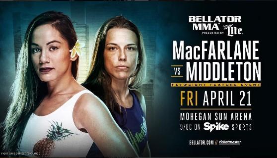 Илима Макфарлейн — Джессика Миддлтон на Bellator 178