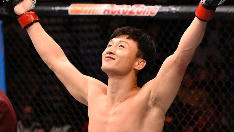 Ду Хой Чой против Каб Свонсон, 10 декабря 2016 на UFC 206