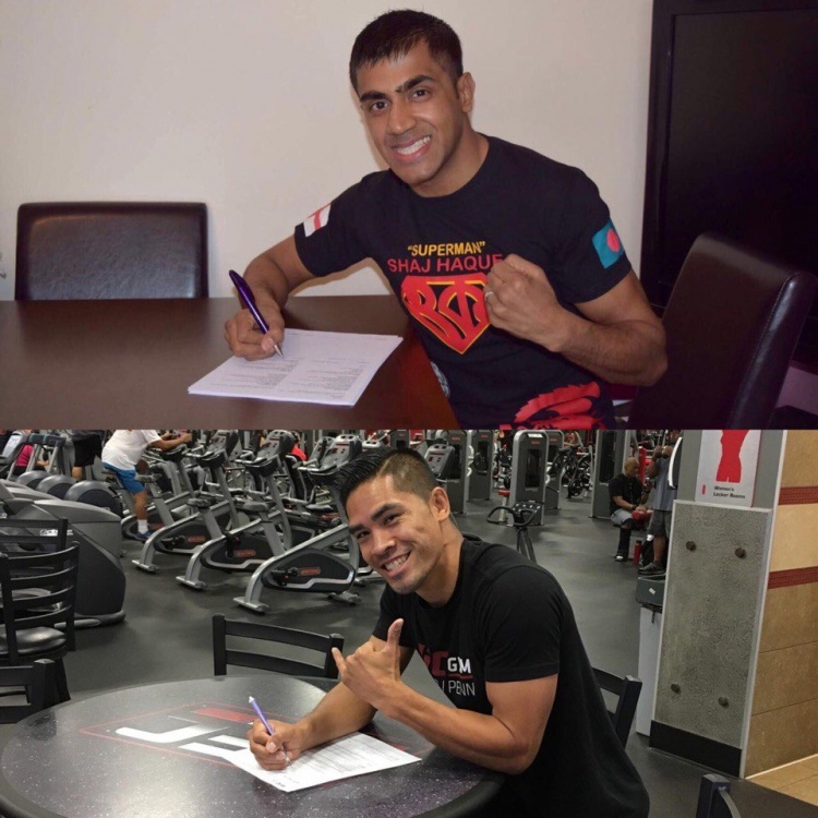 2 новых подписания в Fight Nights Global