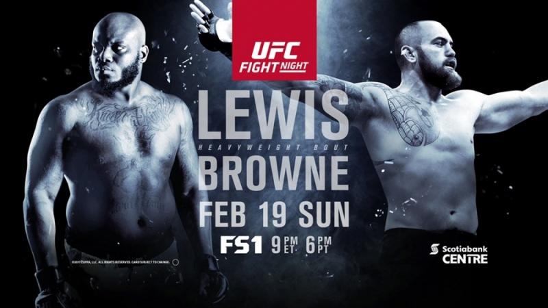 Телевизионные показатели Bellator 172 и UFC Fight Night 105