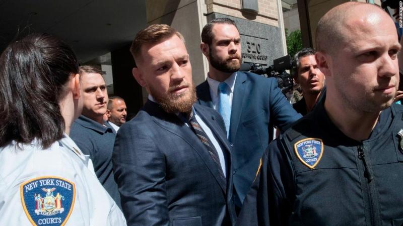 Конору МакГрегору вынесен приговор за беспорядки в Бруклине