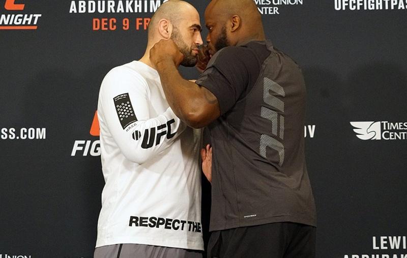 Результаты взвешивания UFC Fight Night 102