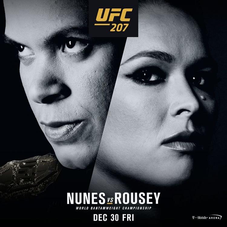 Аманда Нунес: «Я на 200% уверена в том, что побью Ронду Роузи на UFC 207»