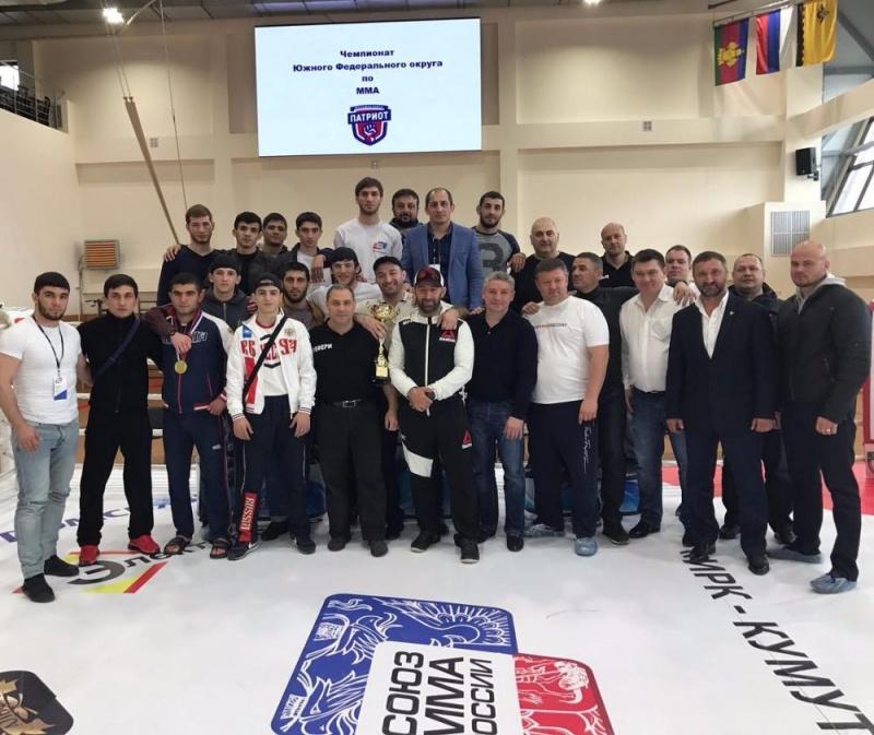 Чемпионат Южного Федерального Округа по ММА 2017