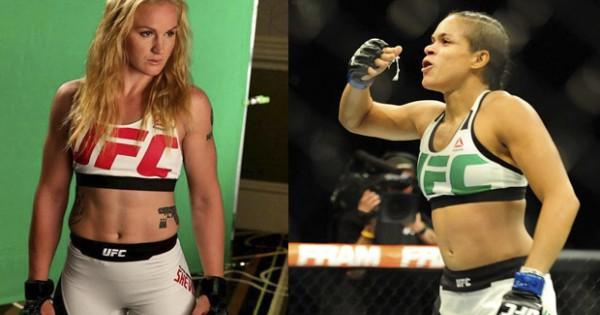 Аманда Нуньес против Валентины Шевченко на UFC 213