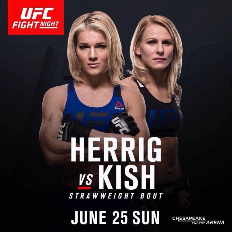 Херриг — Киш на UFC Fight Night 112