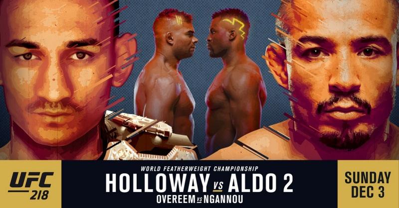 ПРЕДВАРИТЕЛЬНЫЙ РАЗБОР UFC 218: HOLLOWAY VS ALDO 2