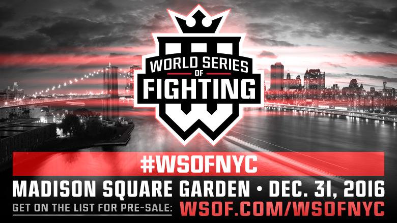 WSOF добавили четвертый титульный бой на дебютное шоу в Нью-Йорке