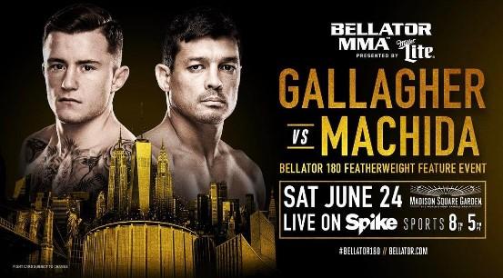 Джеймс Галлахер — Чинзо Мачида на Bellator 180