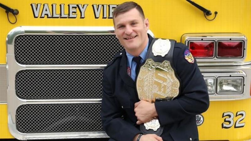 Чемпион UFC и пожарный: жизнь Стипе Миочича вне клетки