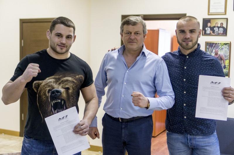 Сергей Романов и Дмитрий Тебекин подписаны в M-1 Global
