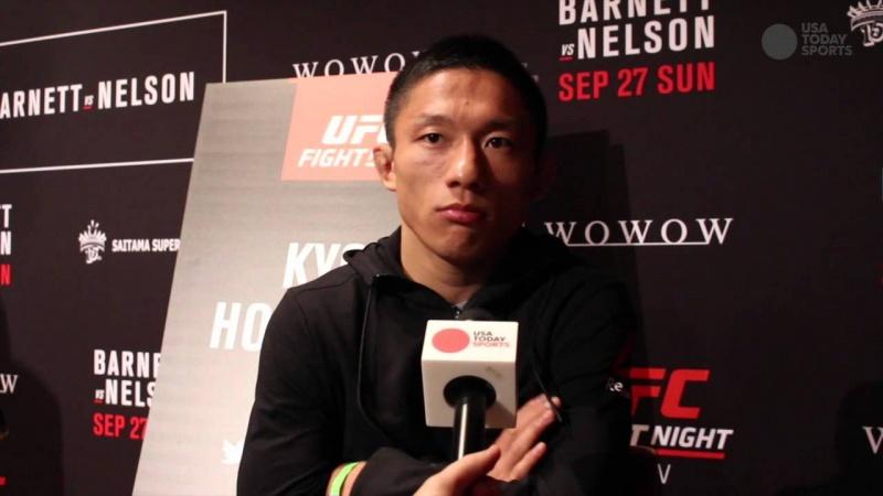 Али Багаутинов и Киоджи Хоригучи сразятся 19 ноября 2016 на UFC Fight Night 99: Ким — Нельсон