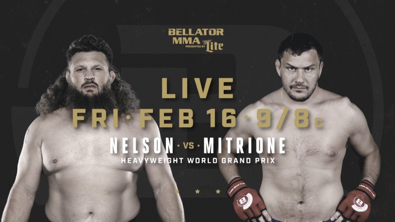 BELLATOR 194 NELSON VS. MITRIONE