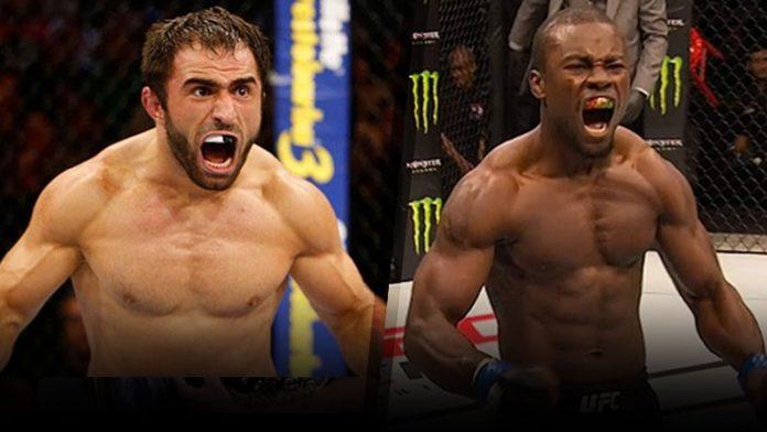Омари Ахмедов — Абдул Разак Альхасcан на UFC Fight Night 109