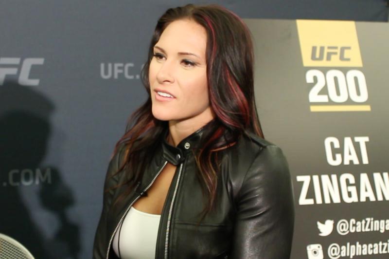 Кэт Зингано о UFC 214: «Бой Сайборг открыл мне глаза на пробелы в ее технике»