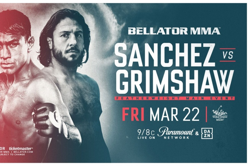 Bellator 218 - Sanchez vs. Grimshaw