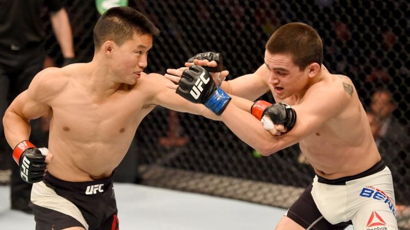 Нгуен наслаждается карьерой в UFC на пути к бою с Деметриусом Джонсоном.