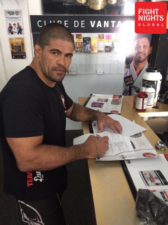 Русимар Пальхарес подписан в Fight Nights Global
