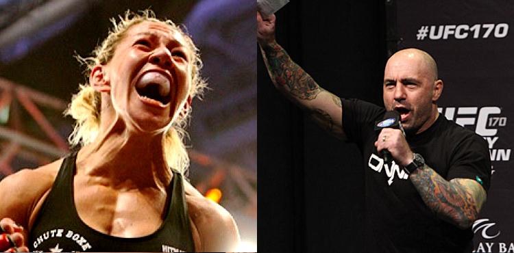 """Джо Роган: """"UFC нужно создать полулегкий вес для Крис Сайборг"""""""